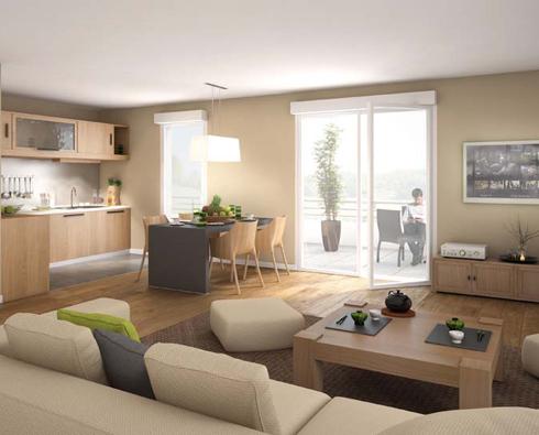 vente appartement neuf t4 annecy vieille ville et lac. Black Bedroom Furniture Sets. Home Design Ideas